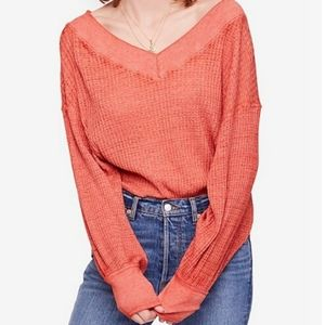 New Free People South Side Thermal Top